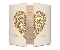 einladungskarten goldene hochzeit mit foto einladungskarten goldene hochzeit kuverts inklusive
