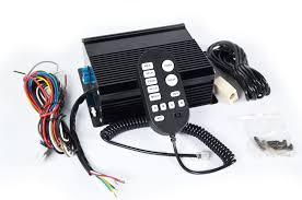 100 watt wail police and emergency vehicle siren wiring and