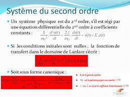 transfert de si e automatique les systèmes du 1er et 2nd ordre ppt