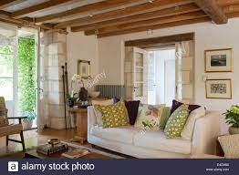 Living Room Ceiling Beams Wooden Ceiling Beams Stock Photos Wooden Ceiling Beams Stock