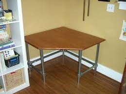 Build Cheap Desk Desk How To Make A Curved Corner Desk How To Build A Corner Desk