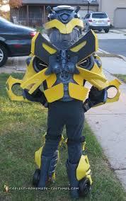 Bumblebee Transformer Halloween Costume Bumblebee Transformer Costume