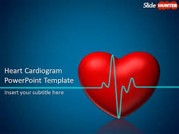 cardiology powerpoint template free animated powerpoint template