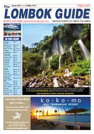 the lombok guide issue 244 by the lombok guide issuu
