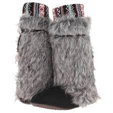s boots with fur muk luks faux fur slipper boots 22 50 free s h