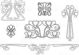 Art Deco Design Elements Art Deco Design Elements Stock Vector Art 165028287 Istock