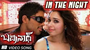 tamanna in badrinath wallpapers in the night full video song badrinath movie allu arjun