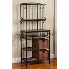 Decorative Wine Racks For Home Tips Decorative Outdoor Bakers Rack For Indoor And Outdoor Use