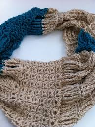 broomstick lace infinity scarf broomstick lace crochet infinity scarf free pattern broomstick
