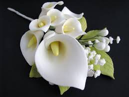 Image Of Calla Lily Flower - calla lilies gum paste flower store