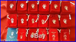 waterford 12 days of ornament set 1978 1995 inc