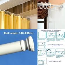 Loaded Shower Curtain Rod Loaded Telescopic Shower Curtain Rail Gopelling Net