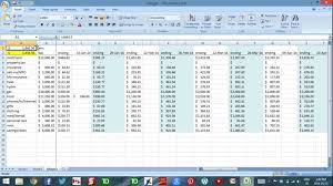 Daily Flow Template Excel Excel To Budget Part 3 Daily Flow Management