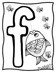 free letter f coloring pages to print for kids download print and
