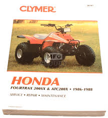 cm347 86 88 honda atc200x trx200sx repair u0026 maintenance manual