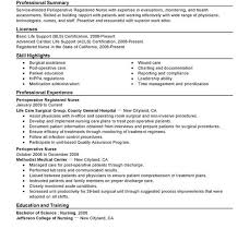 awesome professional summary for nursing resume gallery simple