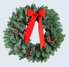 decorated wreaths xmaspin