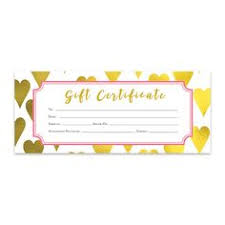 blank gift certificate giftcard giftcertificate gift