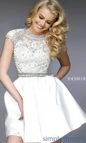 best 25 sherri hill white dress ideas on pinterest sherri hill