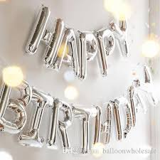 birthday balloon delivery for kids happy birthday balloons party decoration nogoo letters alphabet