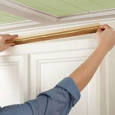 how to add crown molding to kitchen cabinets install kitchen cabinet crown moulding cherry wood kitchen cabinets