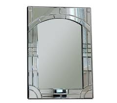 home decorative collection rch hardware manhattan handcrafted glass mirror 24