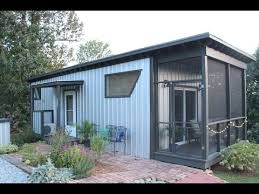 tiny home airbnb stay in the backyard bunkie tiny house on airbnb youtube
