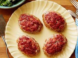mini meatloaf cooking light mini meatloaves recipe food network kitchen food network