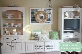 Wall Unit Golden Boys And Me Repurposed Wall Unit