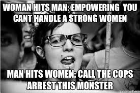 Strong Woman Meme - hits man empowering you cant handle a strong women