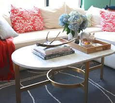 Oval Marble Coffee Table West Elm Marble Oval Coffee Table Table Designs