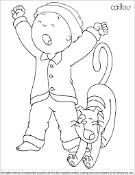83 printable caillou coloring pages free printable caillou
