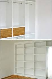Onin Room Divider by Ikea Hackers Billy Bookcases As Room Dividers To Separate Office
