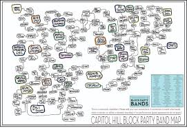 Seattle Tacoma Airport Map Seattle Band Map A Cartographic Map Of Musical