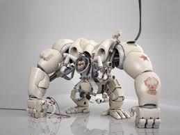 robots animals wallpaper 1600x1200 robots animals apes monkeys