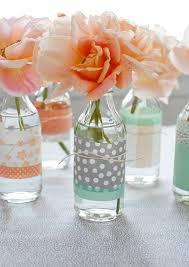 Creative Vase Ideas Washi Tape Vase And Jar Decor