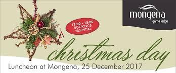 mongena lunch 25 december 2017 mongena lodge