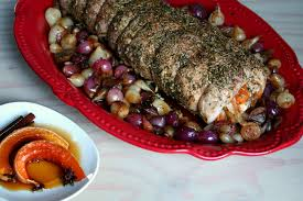 calabaza en tacha stuffed pork loin a new thanksgiving recipe
