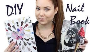 diy nail art book youtube