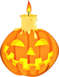 halloween png transparent jack o lantern and burning candle png image