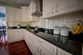 black granite countertops with white cabinets black granite countertops luxurious look for kitchens