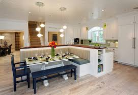Curved Banquette Kitchen Traditional With Upholstered Banquette Bench Kitchen Traditional With Oval Dining
