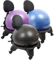 Wheels For Chair Legs Furniture Cozy Gaiam Balance Ball Chair For Home Furniture Ideas
