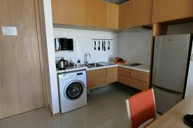 Washing Machine In Kitchen Design Small Kitchen And Even A Washing Machine Picture Of Eastin
