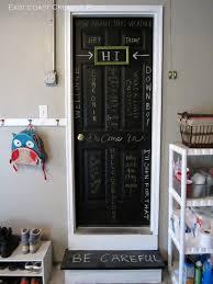 chalkboard door infarrantly creative