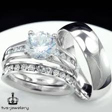 Ebay Wedding Rings by 664 Best Trio Ring Set Images On Pinterest Bays Engagement