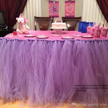 tulle pom poms tulle tutu table skirt and tulle pom poms any theme and colors
