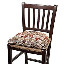 dining chair cushions with ties kitchen amazing dining chair pads stool cushions with ties bar