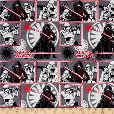 Star Wars Home Decor Star Wars The Force Awakens Flannel The Dark Side Multi Discount