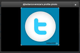 twitter profile image size explained twitter cover photo size
